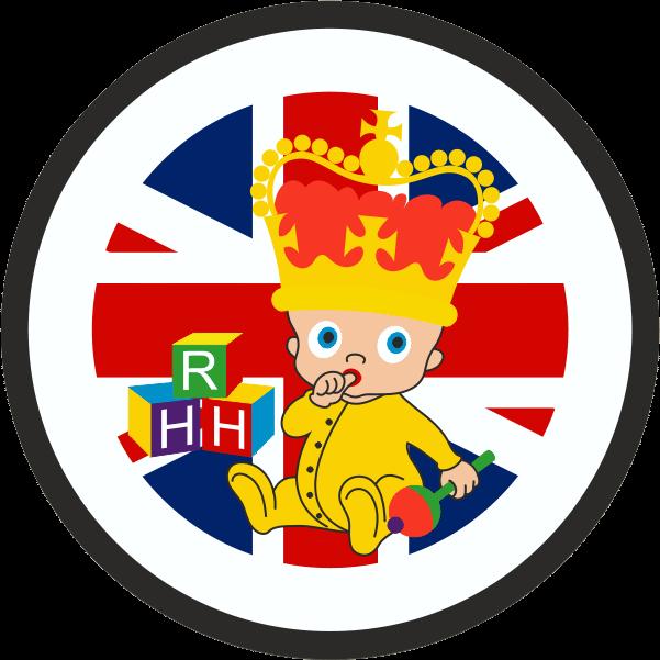 Royal Baby HRH Flag