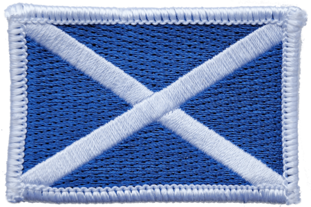 Scottish flag St Andrew's cross