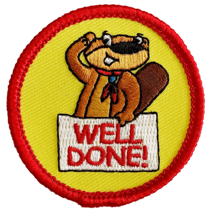 Well done (beavers)