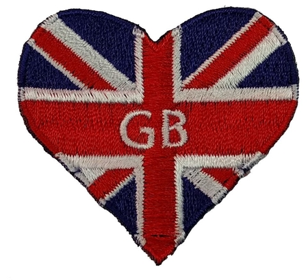 GB heart shaped Union Jack