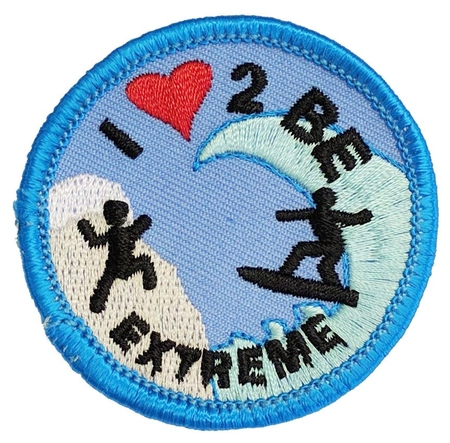 I love 2 be extreme