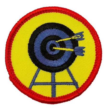 Archery Target badge
